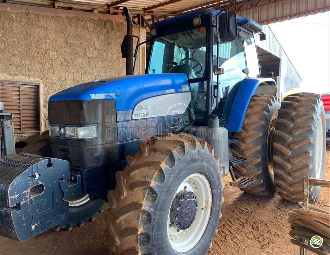 TRATOR NEW HOLLAND NEW TM 7040 Tração 4x4 Usado Agricola LUCAS DO RIO VERDE MATO GROSSO MT