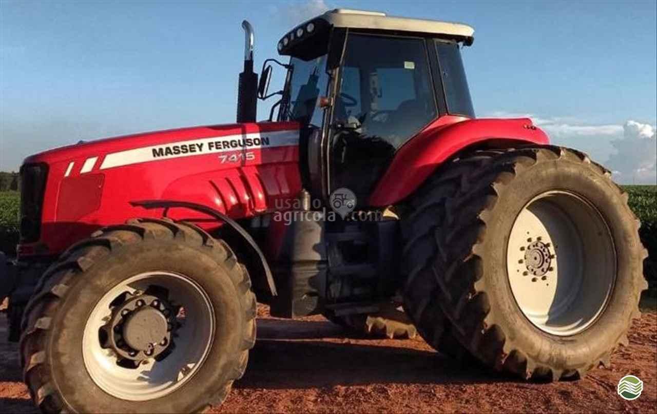 TRATOR MASSEY FERGUSON MF 7415 Tração 4x4 Usado Agricola LUCAS DO RIO VERDE MATO GROSSO MT