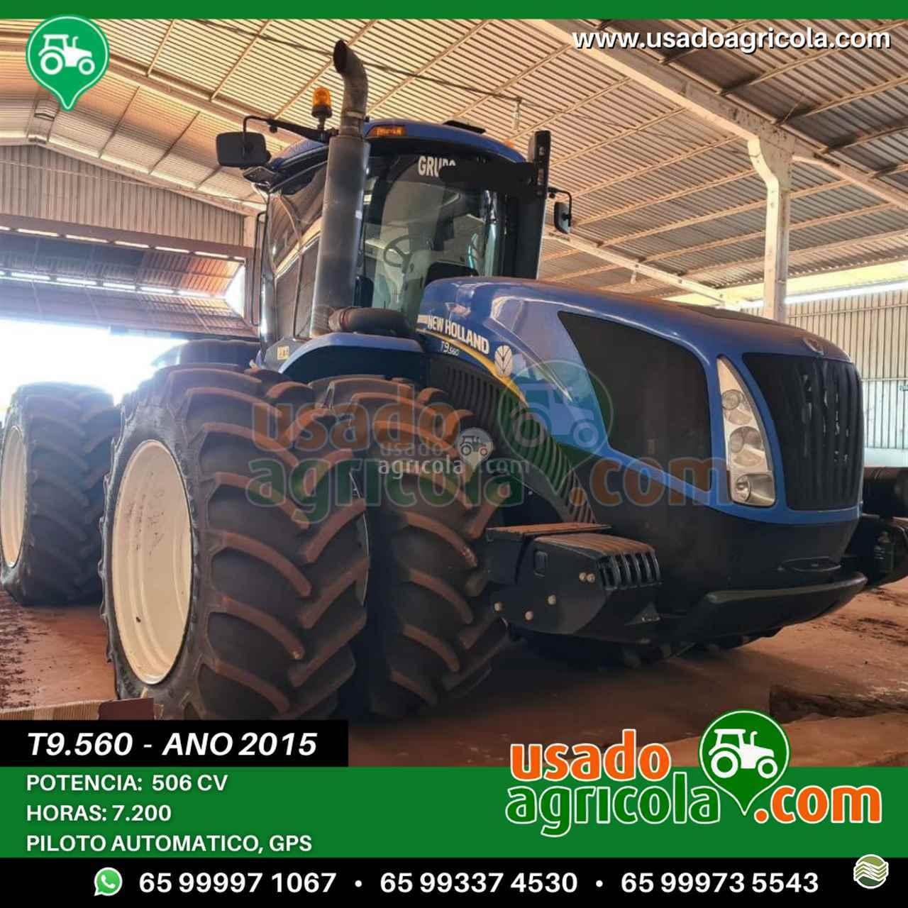 TRATOR NEW HOLLAND NEW T9 560 Tração 4x4 Usado Agricola LUCAS DO RIO VERDE MATO GROSSO MT