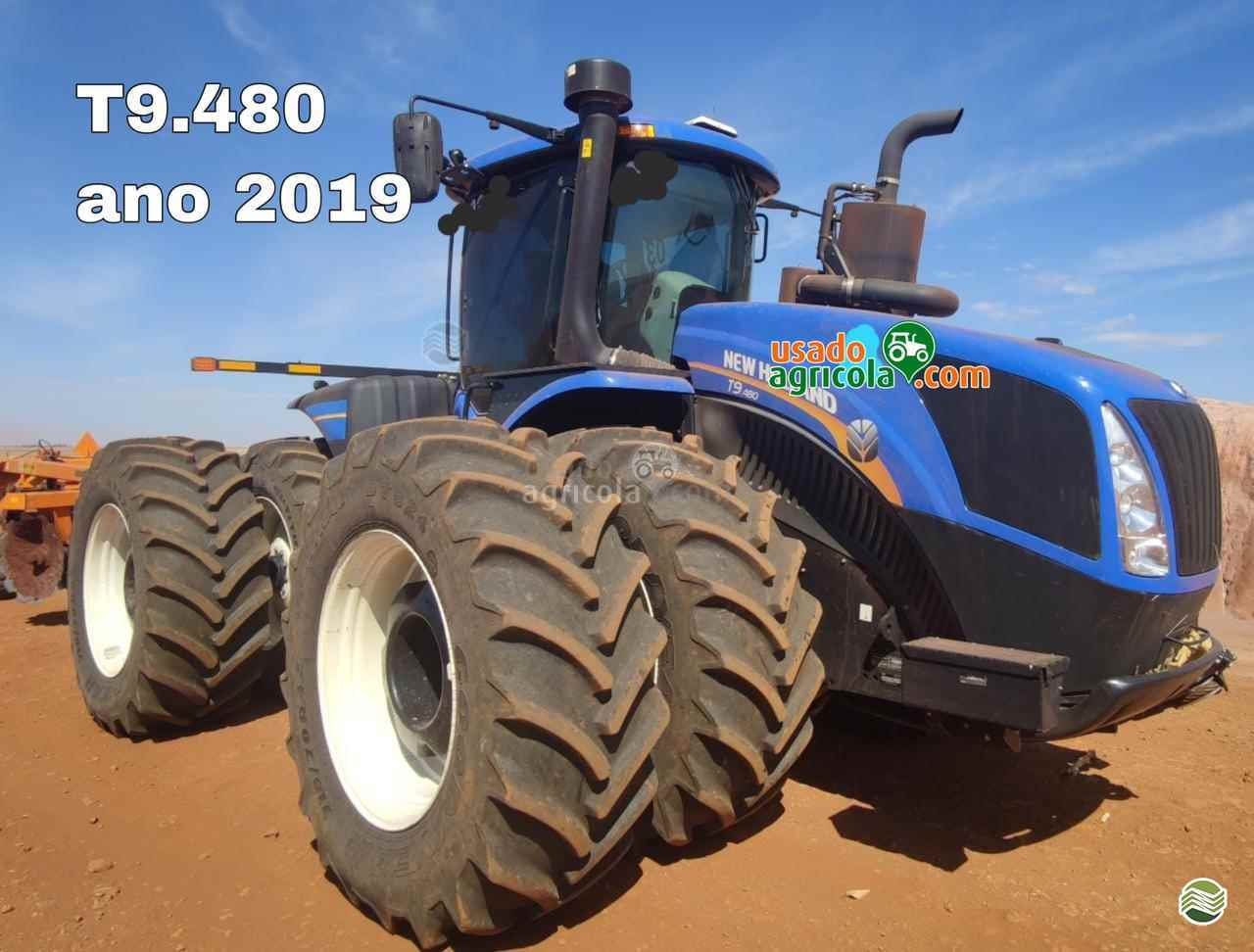 TRATOR NEW HOLLAND NEW T9 480 Tração 4x4 Usado Agrícola LUCAS DO RIO VERDE MATO GROSSO MT