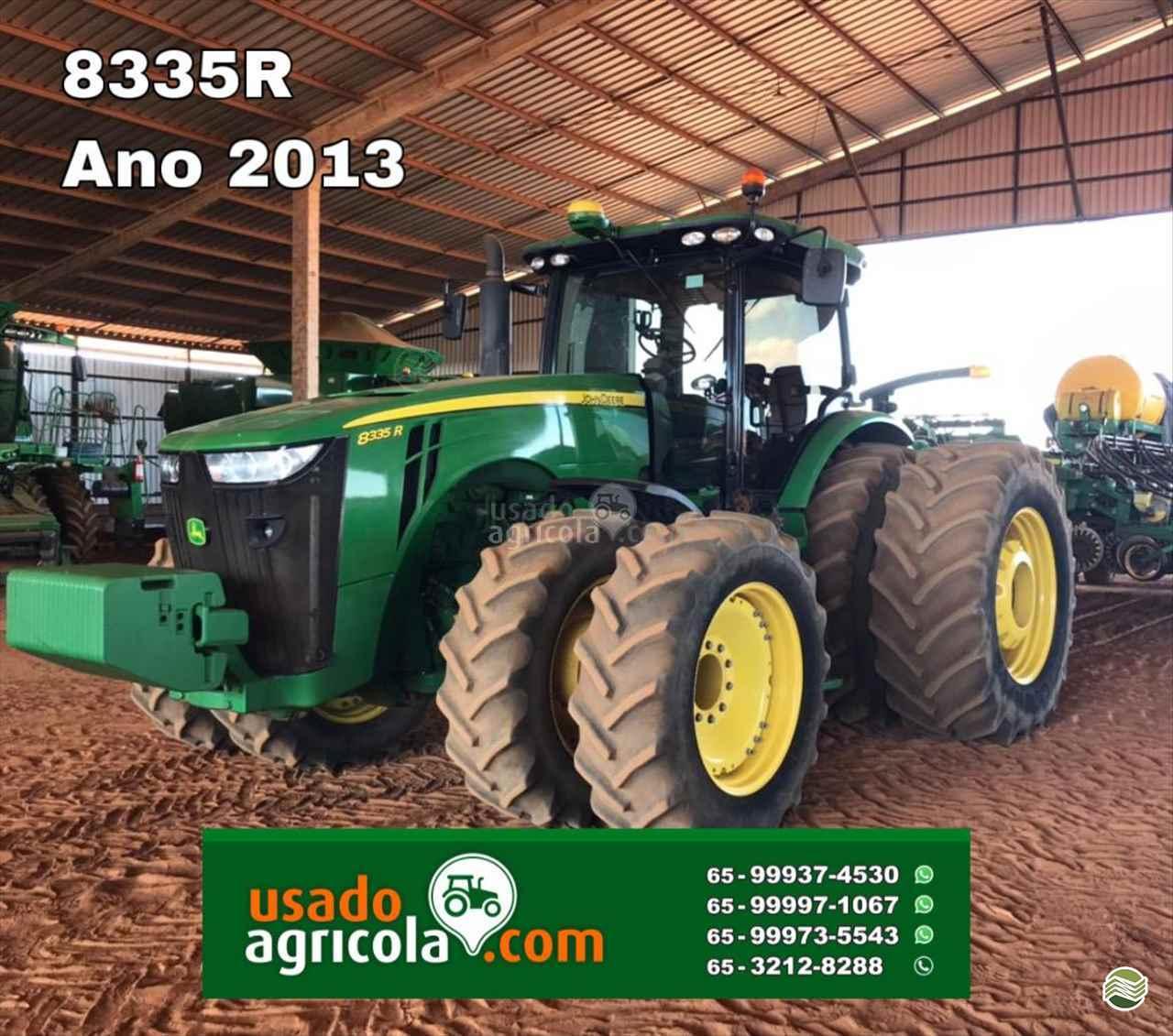 TRATOR JOHN DEERE JOHN DEERE 8335 Tração 4x4 Usado Agrícola LUCAS DO RIO VERDE MATO GROSSO MT