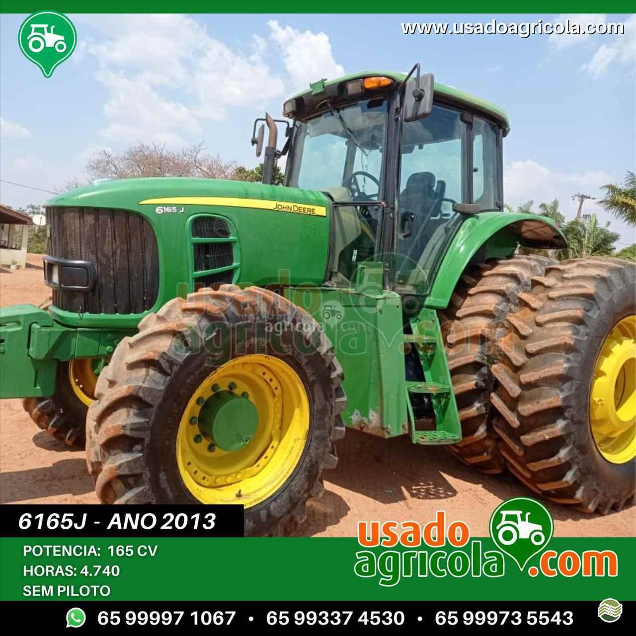 JOHN DEERE 6165 de Usado Agrícola - LUCAS DO RIO VERDE/MT