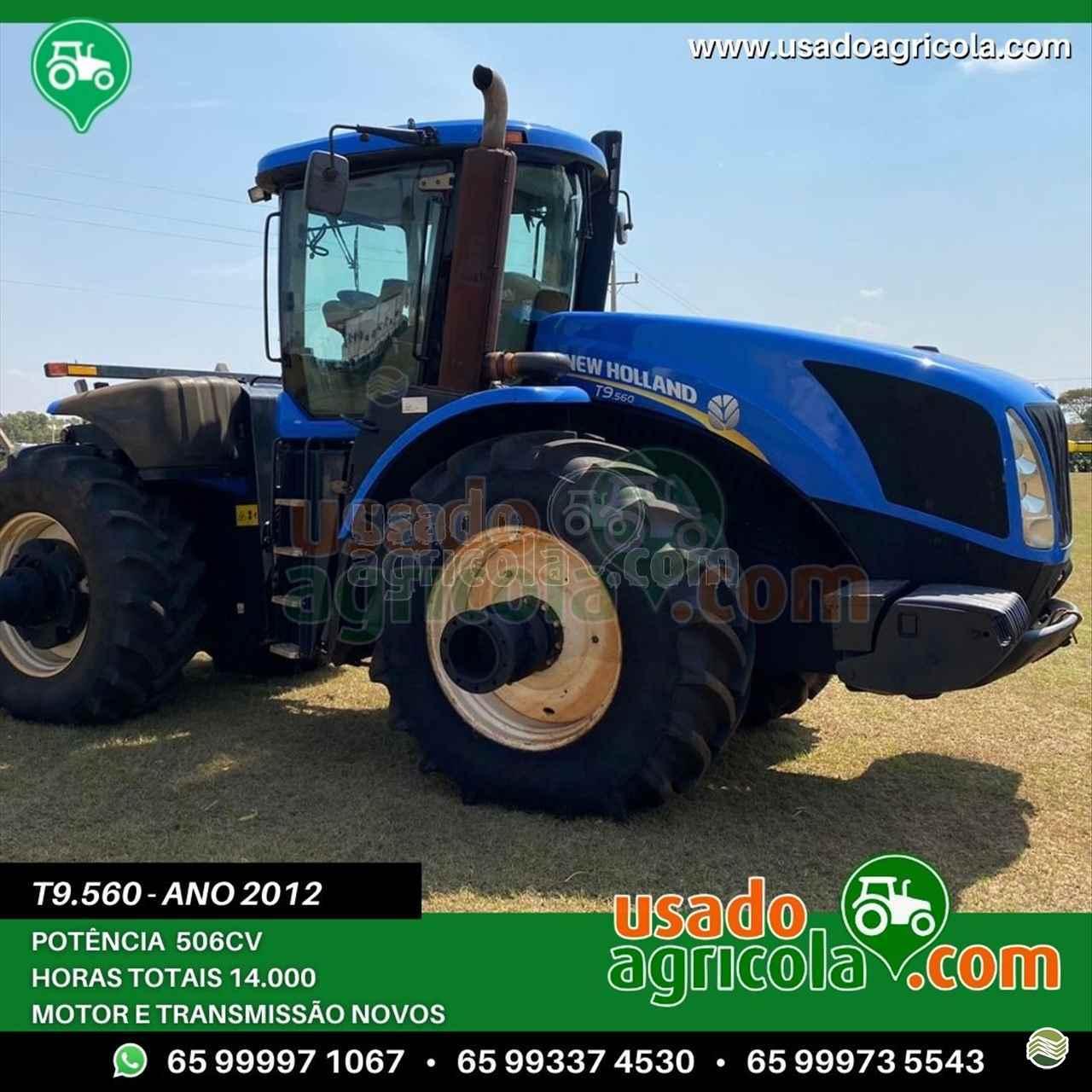 TRATOR NEW HOLLAND NEW T9 560 Tração 4x4 Usado Agrícola LUCAS DO RIO VERDE MATO GROSSO MT