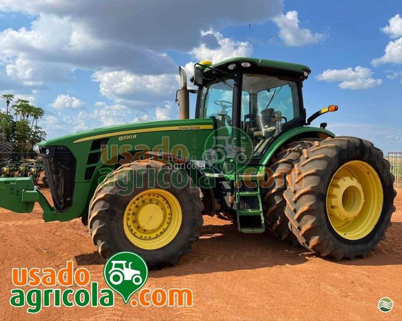 TRATOR JOHN DEERE JOHN DEERE 8320 Tração 4x4 Usado Agrícola LUCAS DO RIO VERDE MATO GROSSO MT