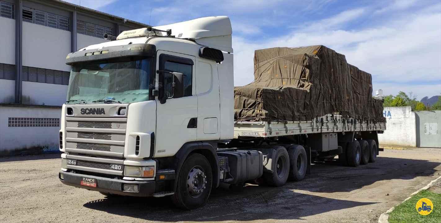CAMINHAO SCANIA SCANIA 124 420 Carga Seca Truck 6x2 Xande Automoveis RIO DO SUL SANTA CATARINA SC