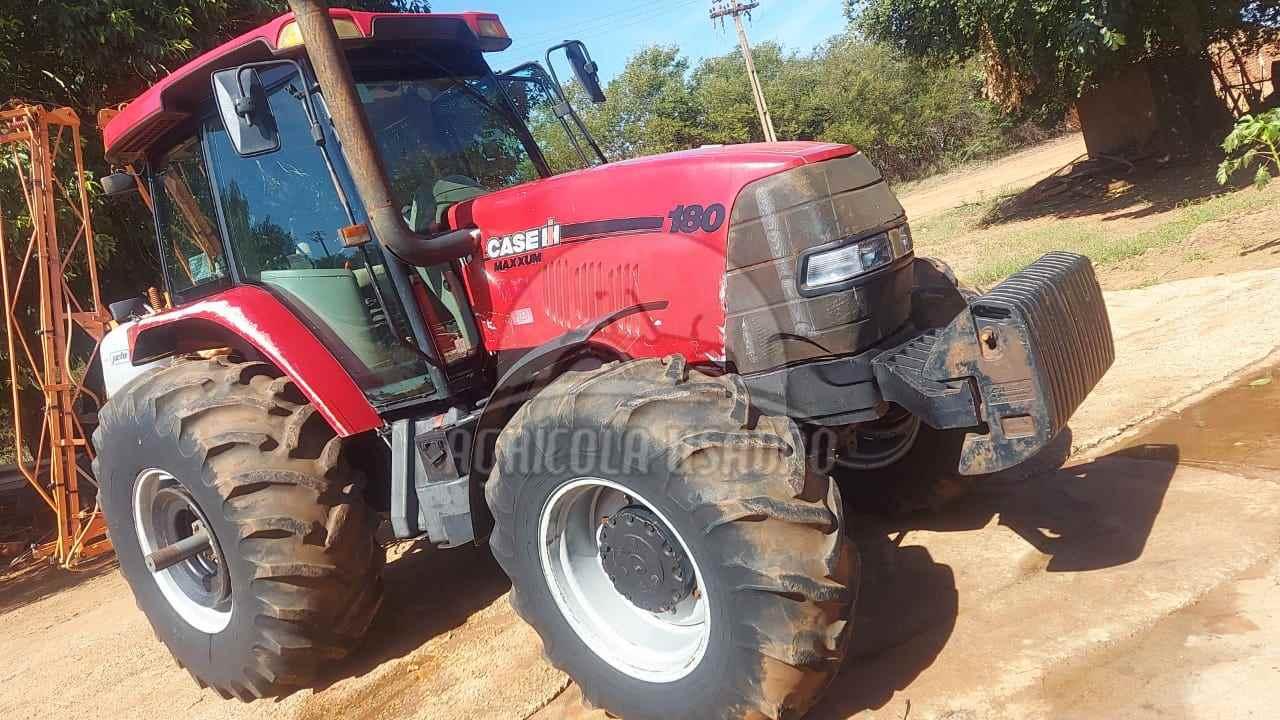 TRATOR CASE CASE MX 180 Tração 4x4 Agrícola Usadão TAQUARITUBA SÃO PAULO SP