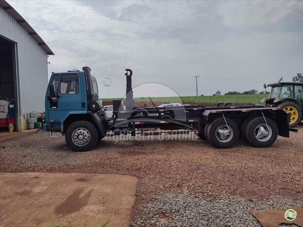 CAMINHAO FORD CARGO 1622 Roll ON OFF Truck 6x2 Agrícola Usadão TAQUARITUBA SÃO PAULO SP