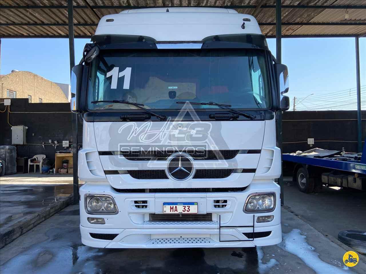 CAMINHAO MERCEDES-BENZ MB 2546 Cavalo Mecânico Truck 6x2 MA 33 Seminovos SUMARE SÃO PAULO SP