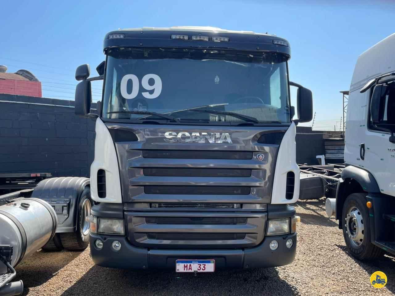 CAMINHAO SCANIA SCANIA 124 420 Cavalo Mecânico Truck 6x2 MA 33 Seminovos SUMARE SÃO PAULO SP