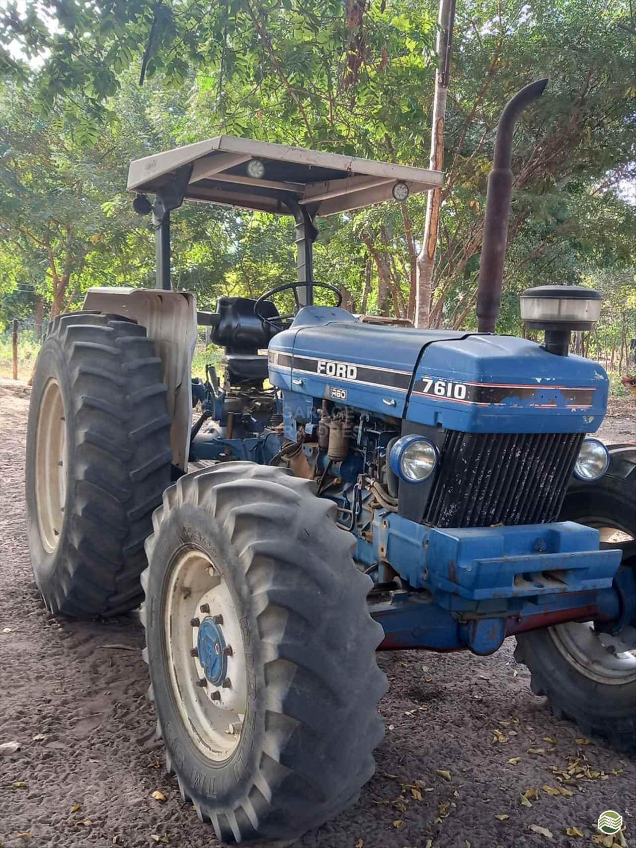 TRATOR FORD FORD 7610 Tração 4x4 Garage Tratores ARAGUARI MINAS GERAIS MG