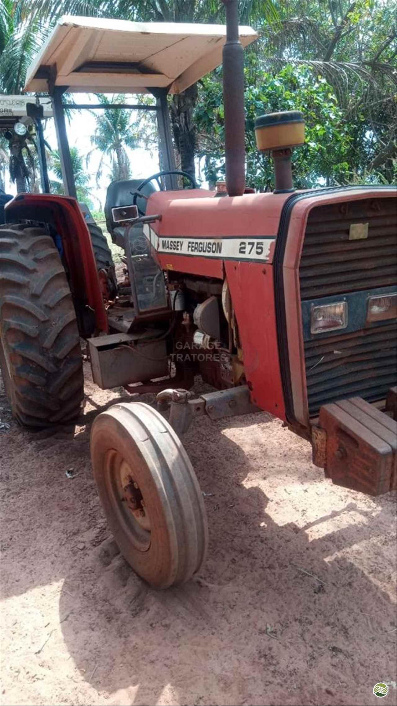 TRATOR MASSEY FERGUSON MF 275 Tração 4x2 Garage Tratores ARAGUARI MINAS GERAIS MG
