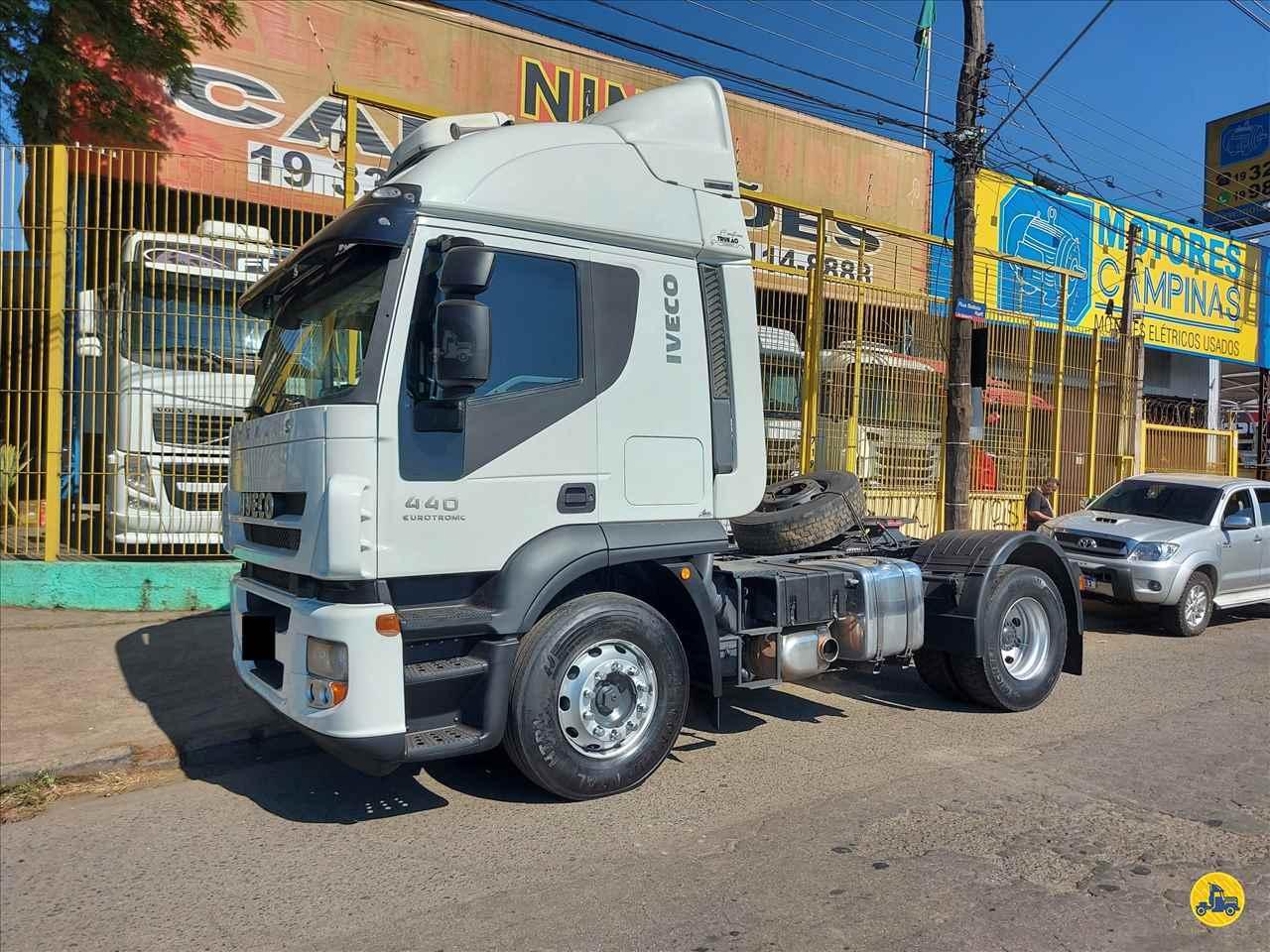 CAMINHAO IVECO STRALIS 440 Cavalo Mecânico Toco 4x2 Nino Caminhões CAMPINAS SÃO PAULO SP