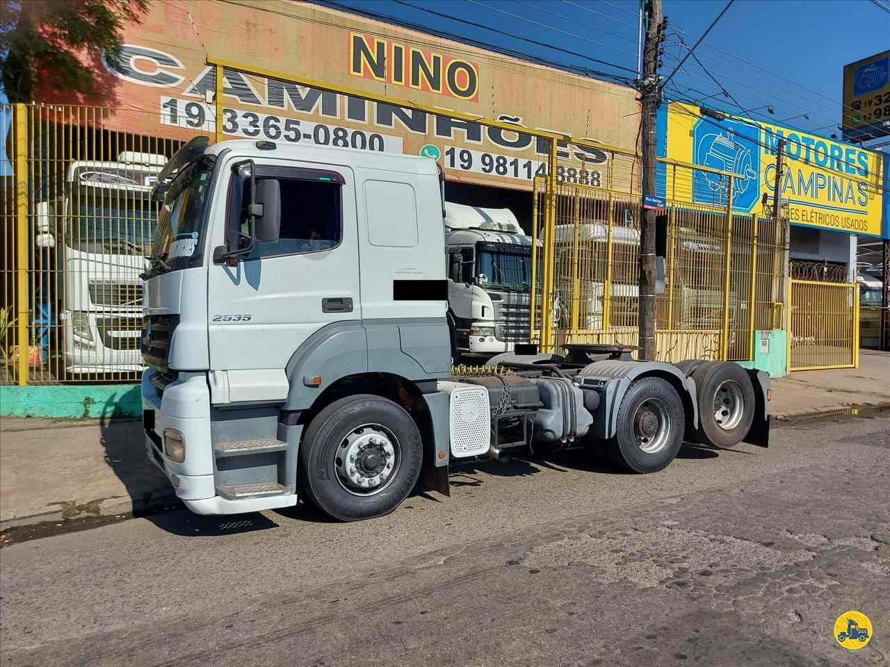 CAMINHAO MERCEDES-BENZ MB 2535 Cavalo Mecânico Truck 6x2 Nino Caminhões CAMPINAS SÃO PAULO SP