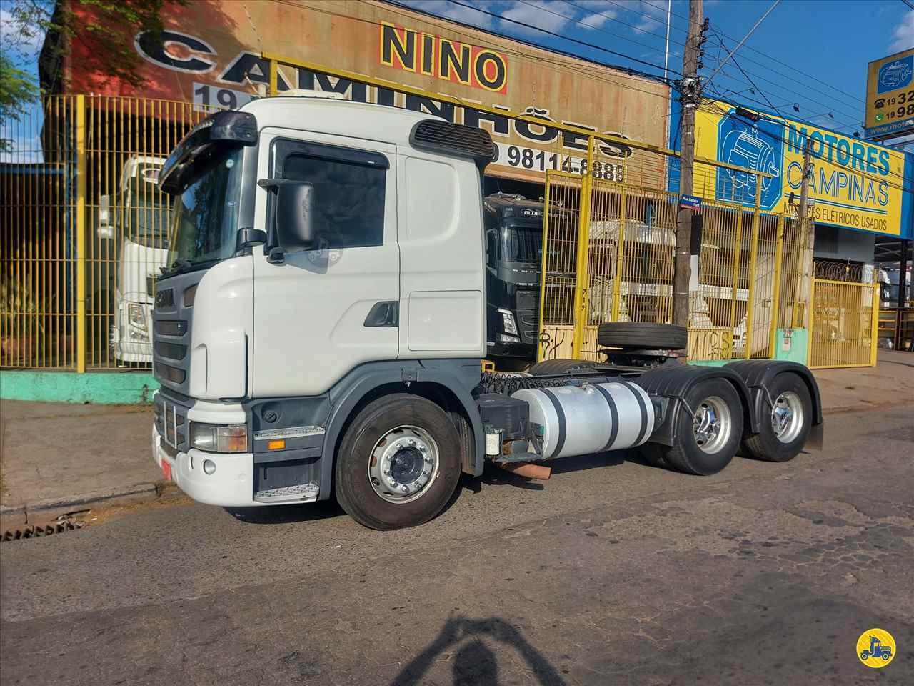 CAMINHAO SCANIA SCANIA 420 Cavalo Mecânico Truck 6x2 Nino Caminhões CAMPINAS SÃO PAULO SP