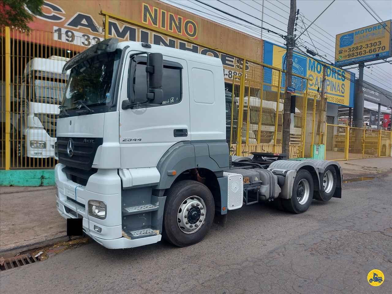 CAMINHAO MERCEDES-BENZ MB 2544 Cavalo Mecânico Truck 6x2 Nino Caminhões CAMPINAS SÃO PAULO SP
