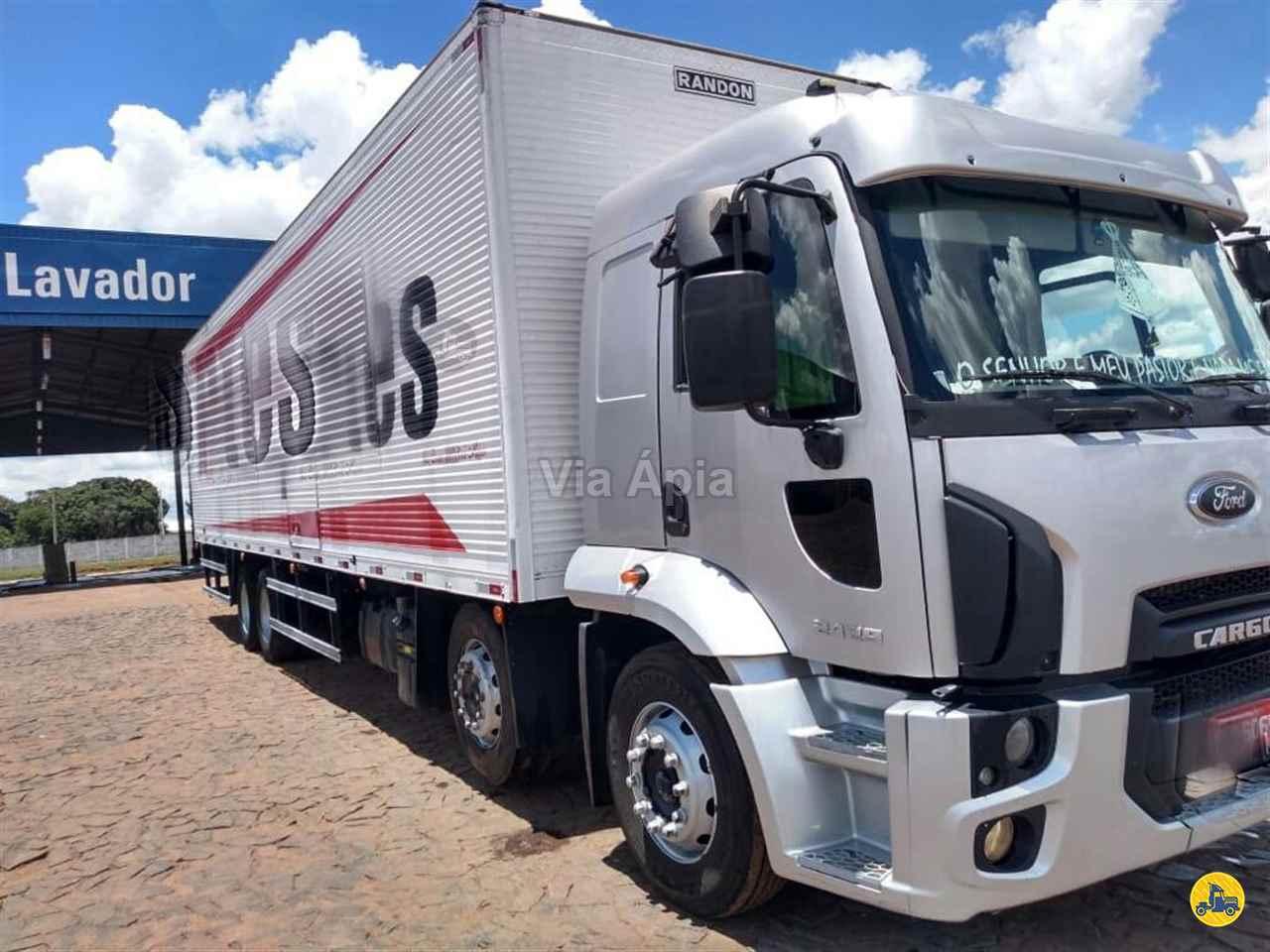 CAMINHAO FORD CARGO 2429 Baú Furgão BiTruck 8x2 Via Ápia Caminhões SAO PAULO SÃO PAULO SP