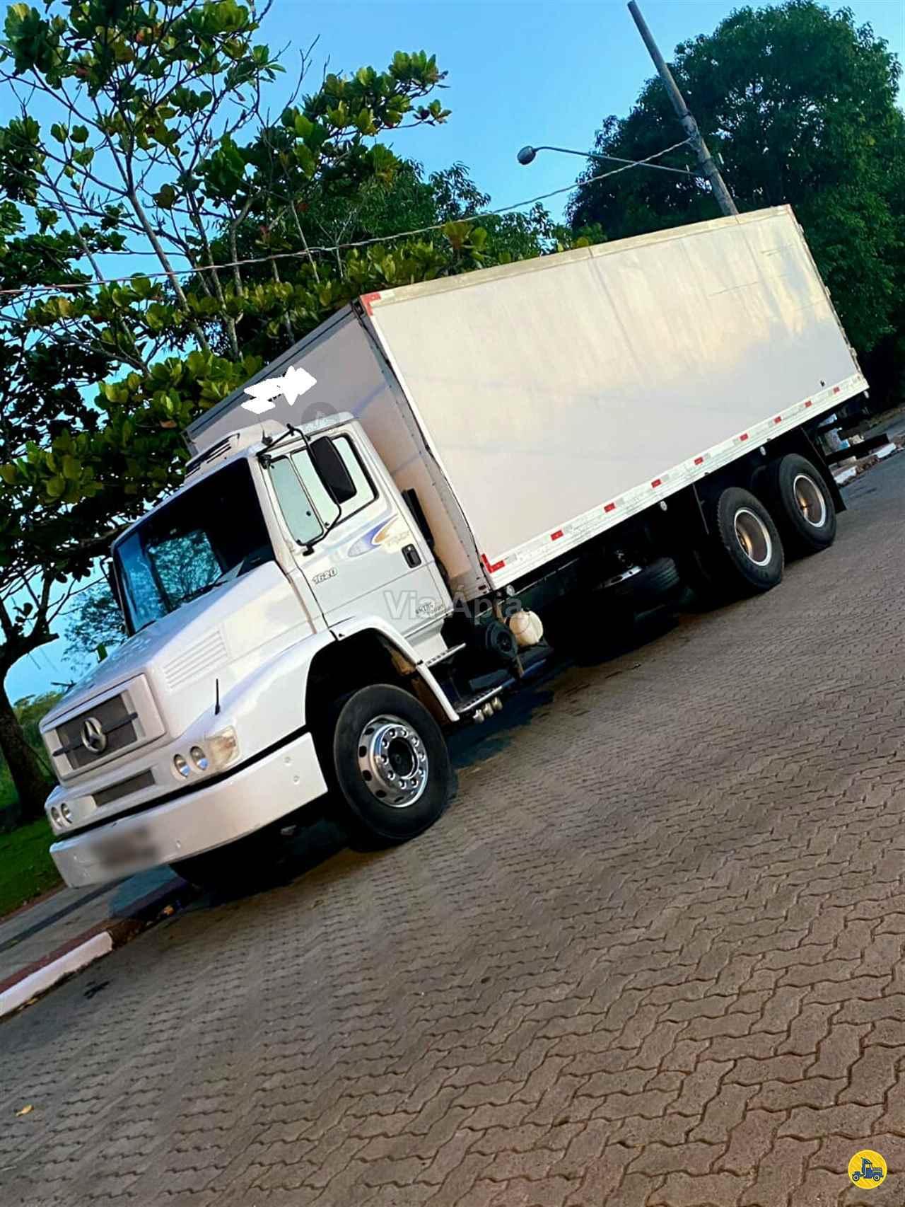 CAMINHAO MERCEDES-BENZ MB 1620 Baú Furgão Truck 6x2 Via Ápia Caminhões SAO PAULO SÃO PAULO SP