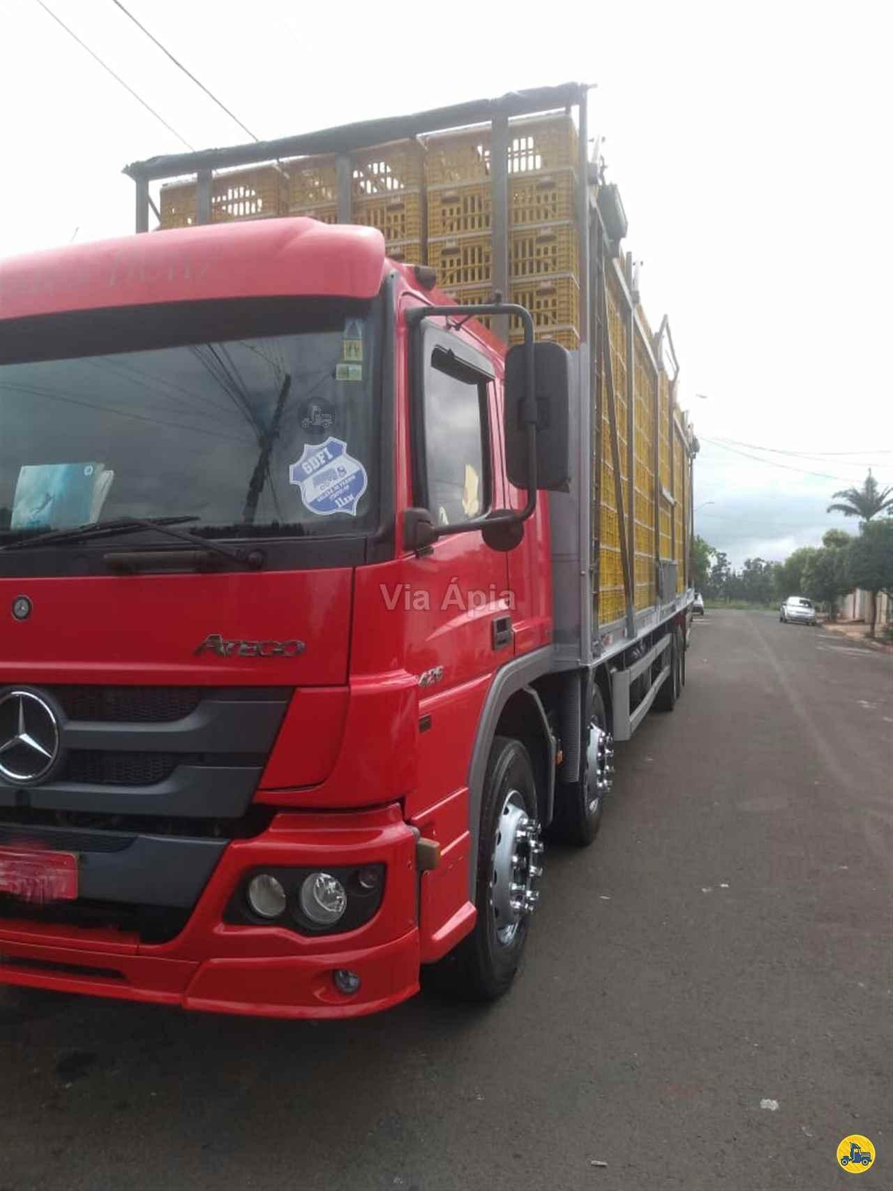 CAMINHAO MERCEDES-BENZ MB 2426 Chassis BiTruck 8x2 Via Ápia Caminhões SAO PAULO SÃO PAULO SP