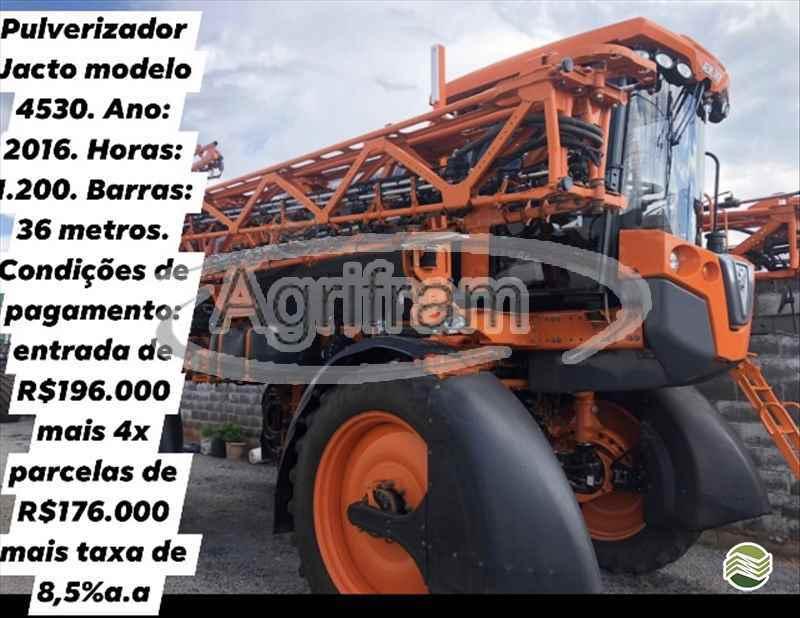 JACTO UNIPORT 4530  2016/2016 Agrifram Máquinas e Soluções Agrícolas
