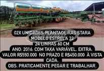 STARA ESTRELA 32  2016/2016 Agrifram Máquinas e Soluções Agrícolas
