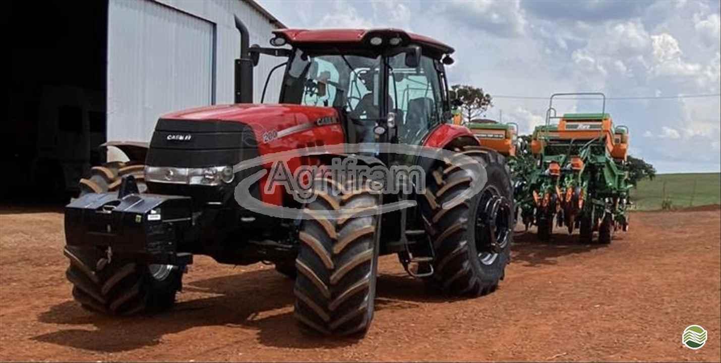 TRATOR CASE PUMA 200 Tração 4x4 Agrifram Máquinas e Soluções Agrícolas LUIS EDUARDO MAGALHAES BAHIA BA