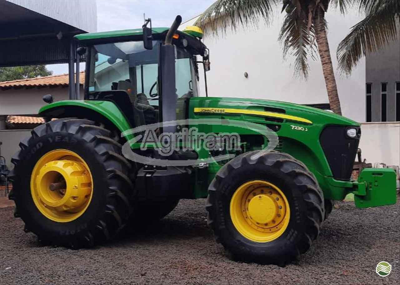 TRATOR JOHN DEERE JOHN DEERE 7230 Tração 4x4 Agrifram Máquinas e Soluções Agrícolas LUIS EDUARDO MAGALHAES BAHIA BA