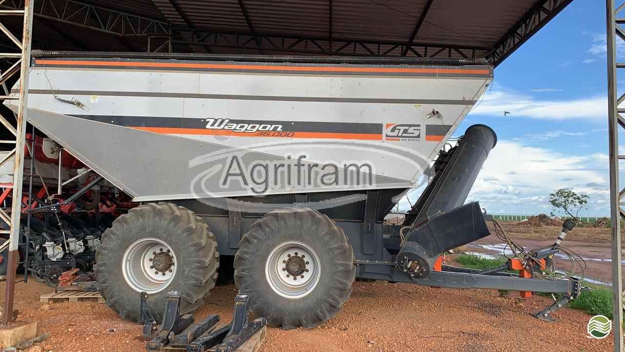 IMPLEMENTOS AGRICOLAS CARRETA BAZUKA GRANELEIRA 36000 Agrifram Máquinas e Soluções Agrícolas LUIS EDUARDO MAGALHAES BAHIA BA