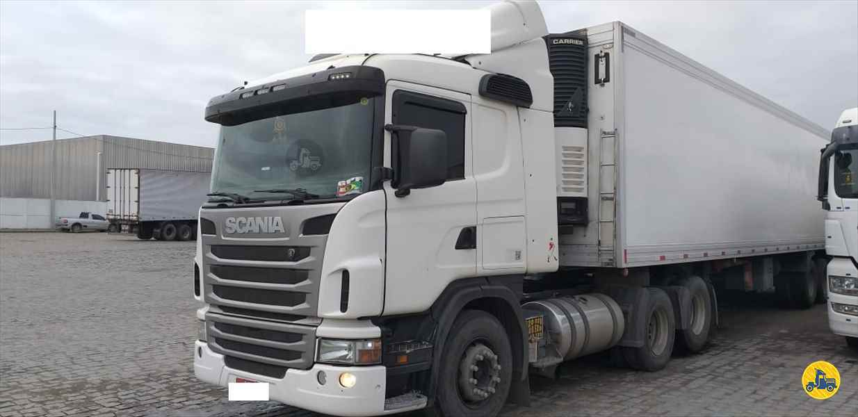 SCANIA SCANIA 420 110000km 2011/2012 Transmap Caminhões
