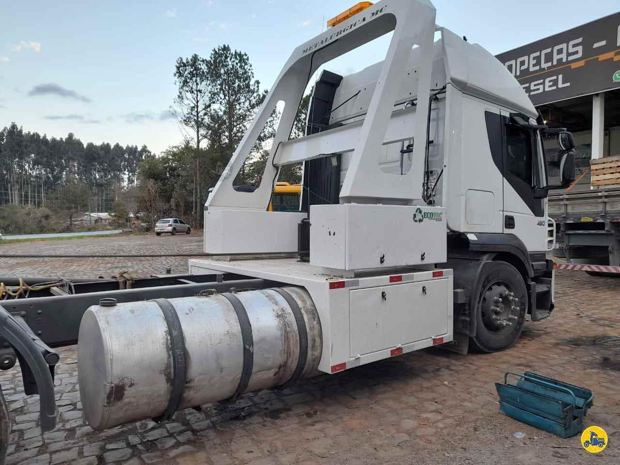 CAMINHAO IVECO STRALIS 420 Guincho Munck Traçado 6x4 Transmap Caminhões SANTA ROSA RIO GRANDE DO SUL RS
