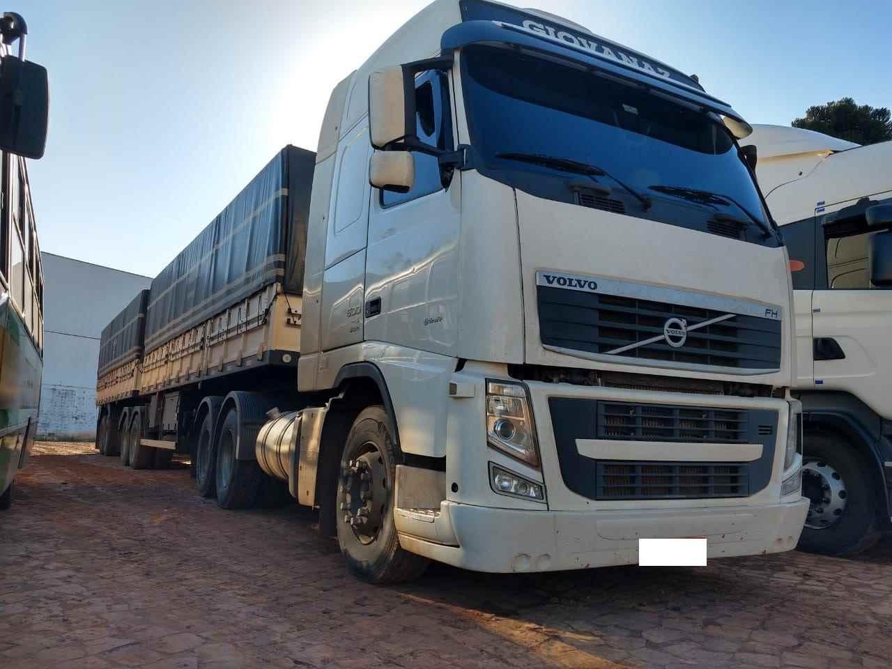 CAMINHAO VOLVO VOLVO FH 500 Graneleiro Traçado 6x4 Transmap Caminhões SANTA ROSA RIO GRANDE DO SUL RS