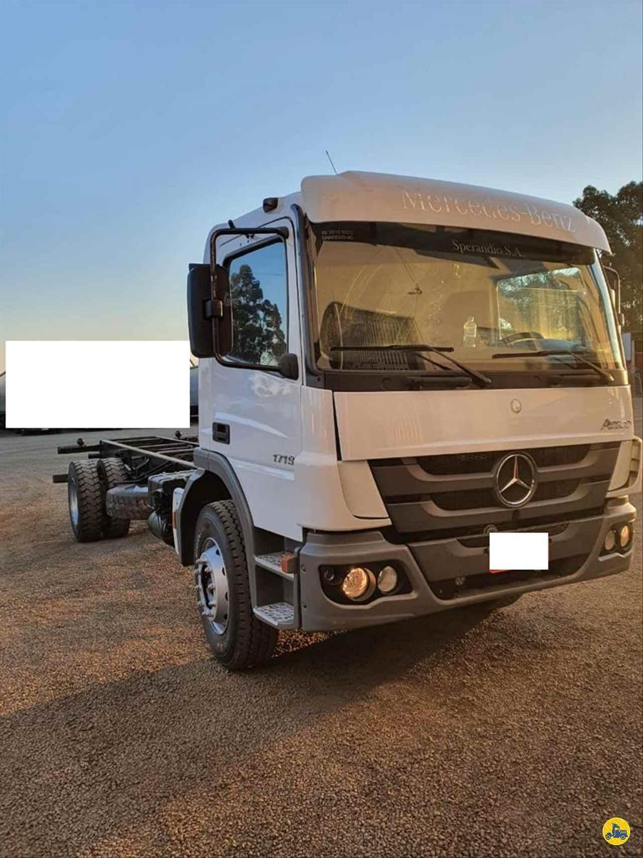 CAMINHAO MERCEDES-BENZ MB 1719 Chassis Truck 6x2 Transmap Caminhões SANTA ROSA RIO GRANDE DO SUL RS