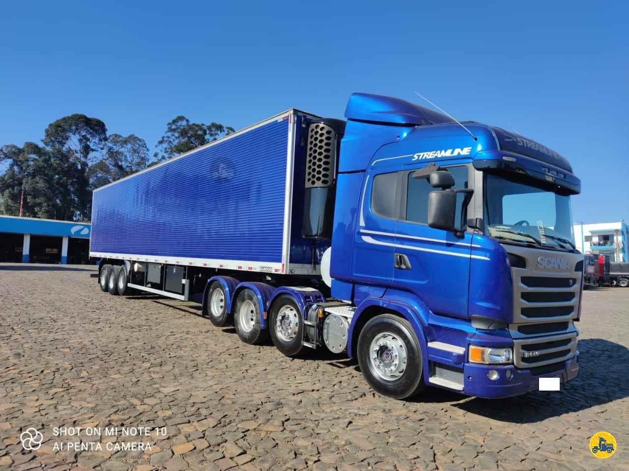 CAMINHAO SCANIA SCANIA 440 Baú Frigorífico BiTruck 8x2 Transmap Caminhões SANTA ROSA RIO GRANDE DO SUL RS