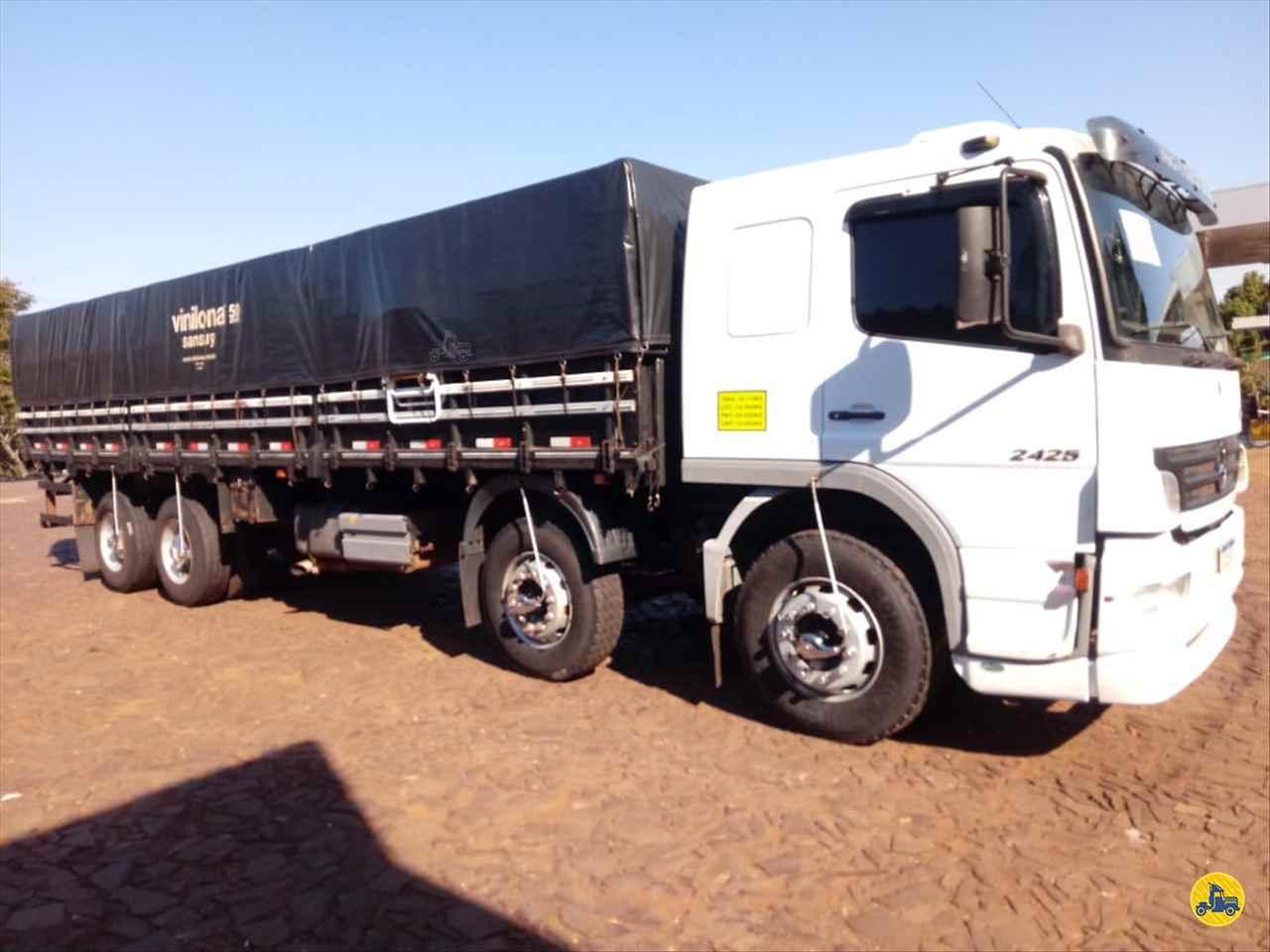 CAMINHAO MERCEDES-BENZ MB 2425 Graneleiro BiTruck 8x2 Transmap Caminhões SANTA ROSA RIO GRANDE DO SUL RS