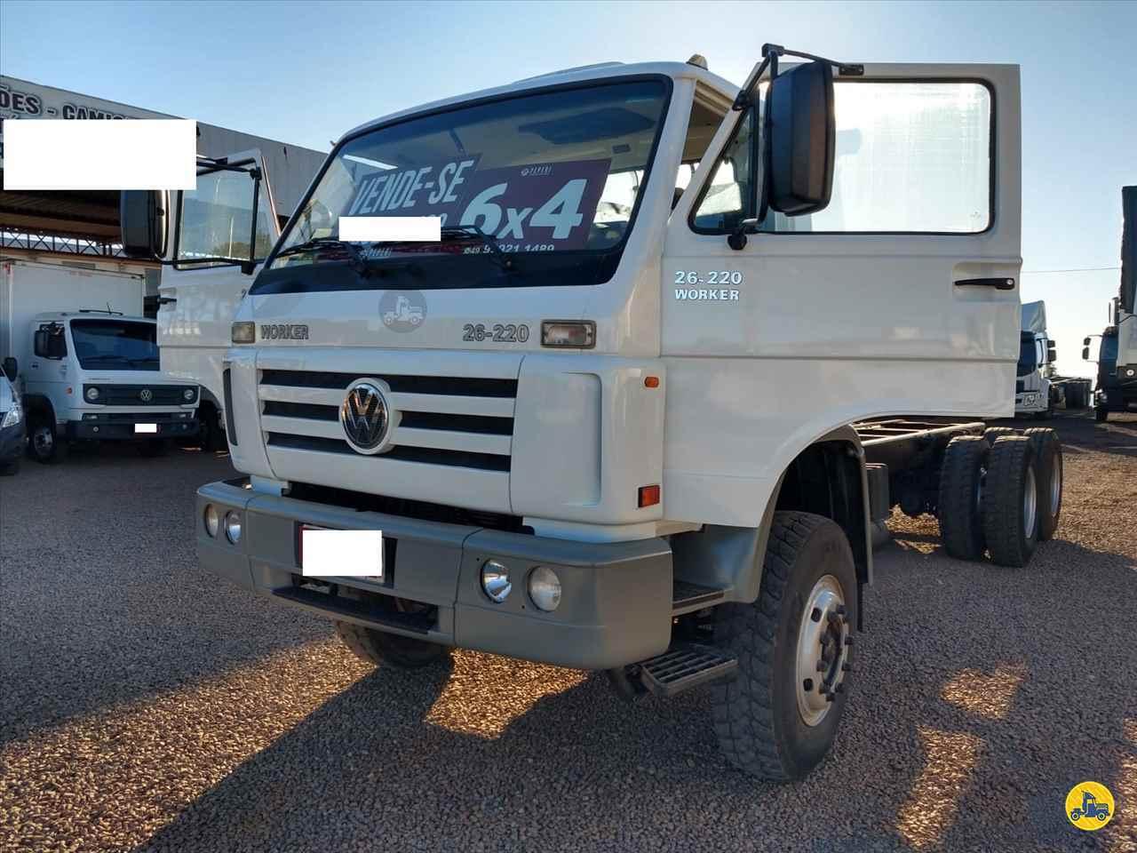 CAMINHAO VOLKSWAGEN VW 26220 Cavalo Mecânico Truck 6x2 Transmap Caminhões SANTA ROSA RIO GRANDE DO SUL RS