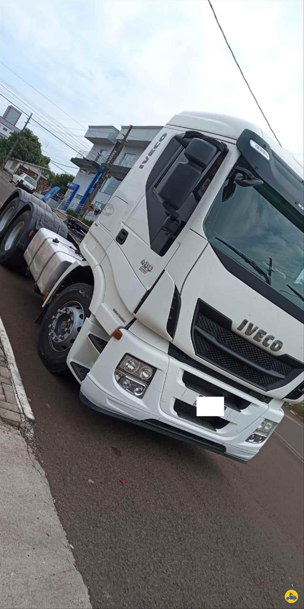CAMINHAO IVECO STRALIS 480 Cavalo Mecânico Truck 6x2 Transmap Caminhões SANTA ROSA RIO GRANDE DO SUL RS