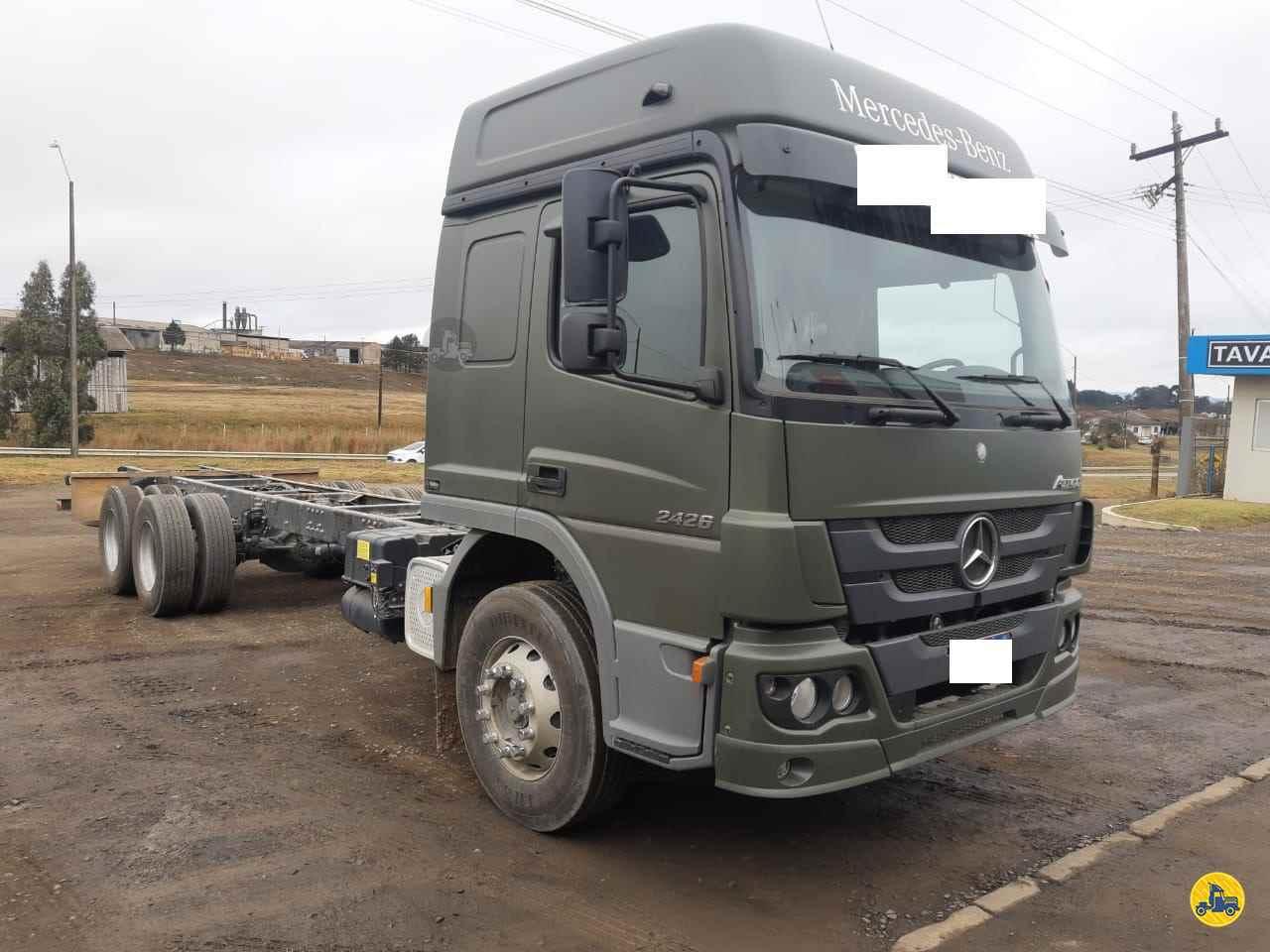 CAMINHAO MERCEDES-BENZ MB 2426 Chassis Truck 6x2 Transmap Caminhões SANTA ROSA RIO GRANDE DO SUL RS