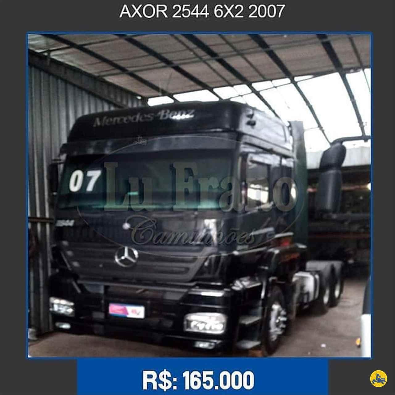 CAMINHAO MERCEDES-BENZ MB 2544 Cavalo Mecânico Truck 6x2 Lu Frano Caminhões SANTO ANDRE SÃO PAULO SP