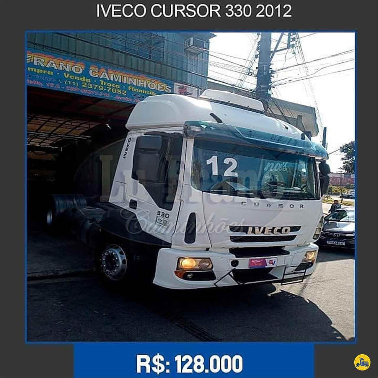 CAMINHAO IVECO CURSOR 450E33 Cavalo Mecânico Toco 4x2 Lu Frano Caminhões SANTO ANDRE SÃO PAULO SP