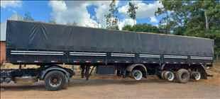 SEMI-REBOQUE GRANELEIRO  2008/2009 DKM Caminhões