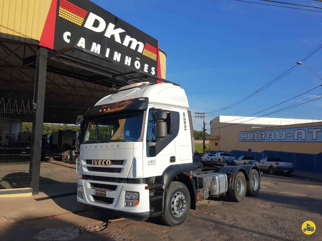 CAMINHAO IVECO STRALIS 480 Cavalo Mecânico Traçado 6x4 DKM Caminhões ARACATUBA SÃO PAULO SP