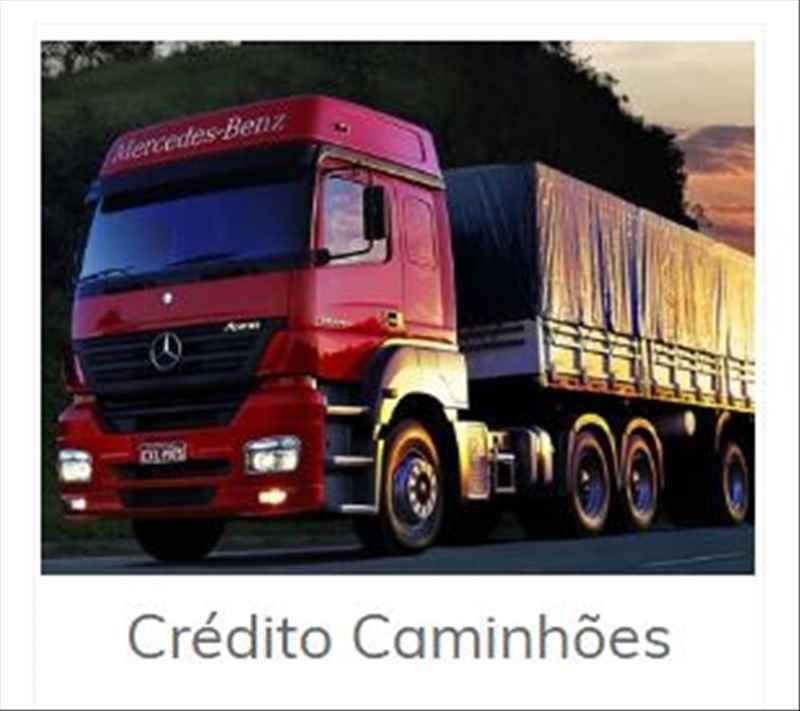 Crédito aquisição de Caminhão