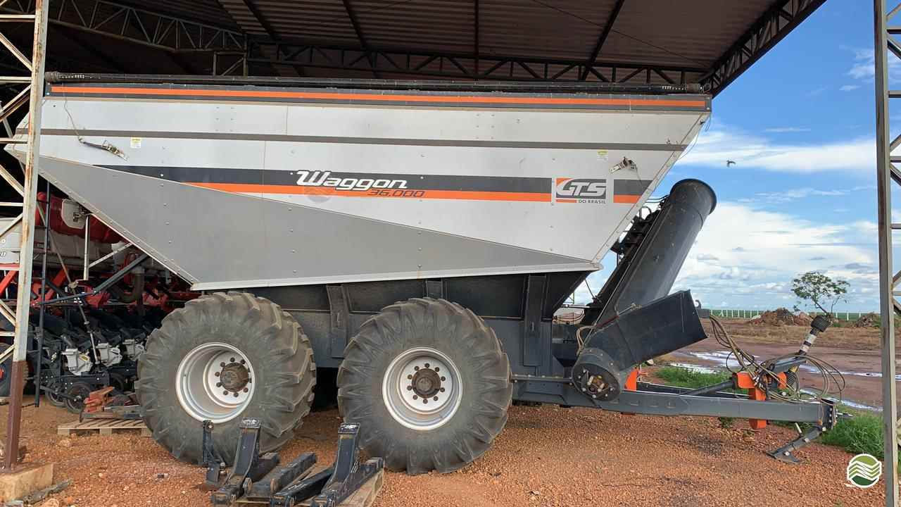IMPLEMENTOS AGRICOLAS CARRETA BAZUKA GRANELEIRA 36000 Gama Máquinas Agrícolas RIO VERDE GOIAS GO