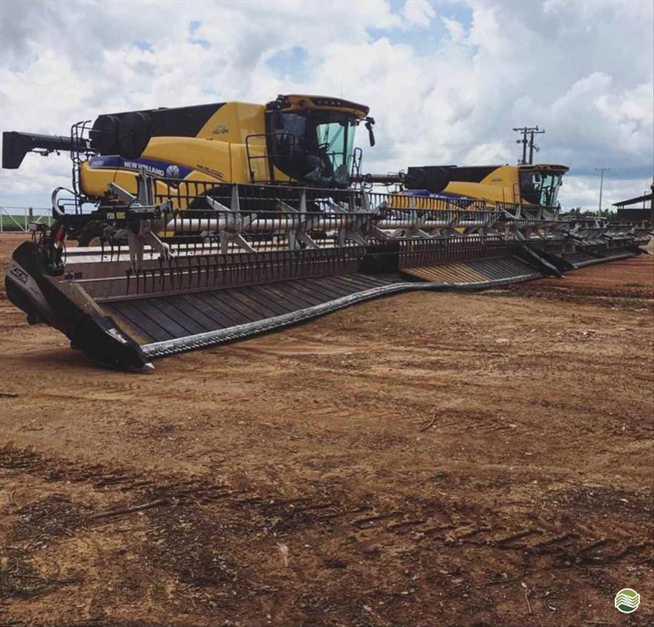 PLATAFORMA COLHEITADEIRA GTS FLEXDRAPER DS50 Gama Máquinas Agrícolas RIO VERDE GOIAS GO