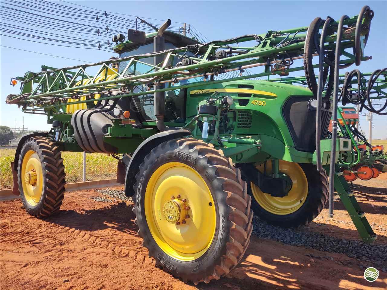 PULVERIZADOR JOHN DEERE JOHN DEERE 4730 Tração 4x4 Gama Máquinas Agrícolas RIO VERDE GOIAS GO