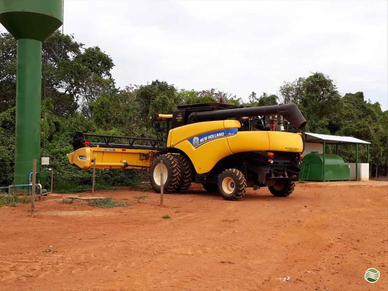 COLHEITADEIRA NEW HOLLAND CR 6080 Gama Máquinas Agrícolas RIO VERDE GOIAS GO