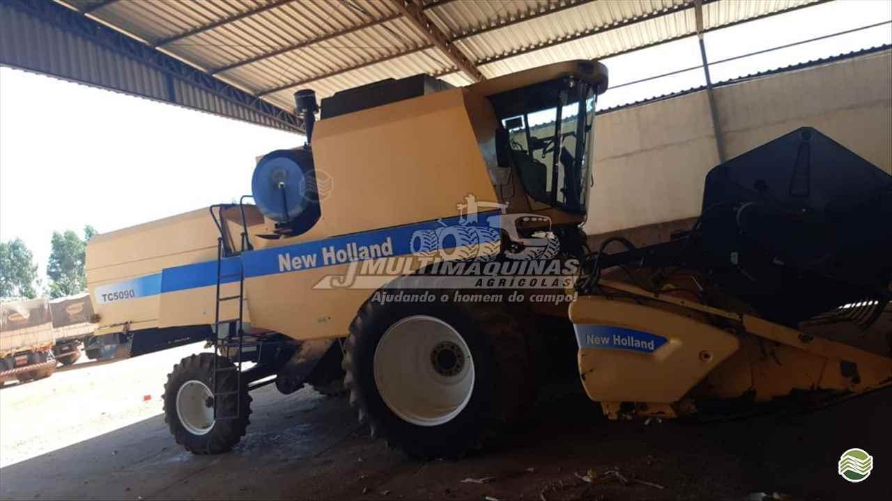 COLHEITADEIRA NEW HOLLAND TC 5090 JMulti Máquinas RIO VERDE GOIAS GO