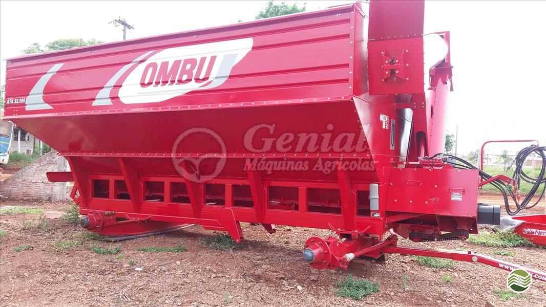 IMPLEMENTOS AGRICOLAS CARRETA BAZUKA GRANELEIRA 32500 Genial Máquinas DOURADOS MATO GROSSO DO SUL MS