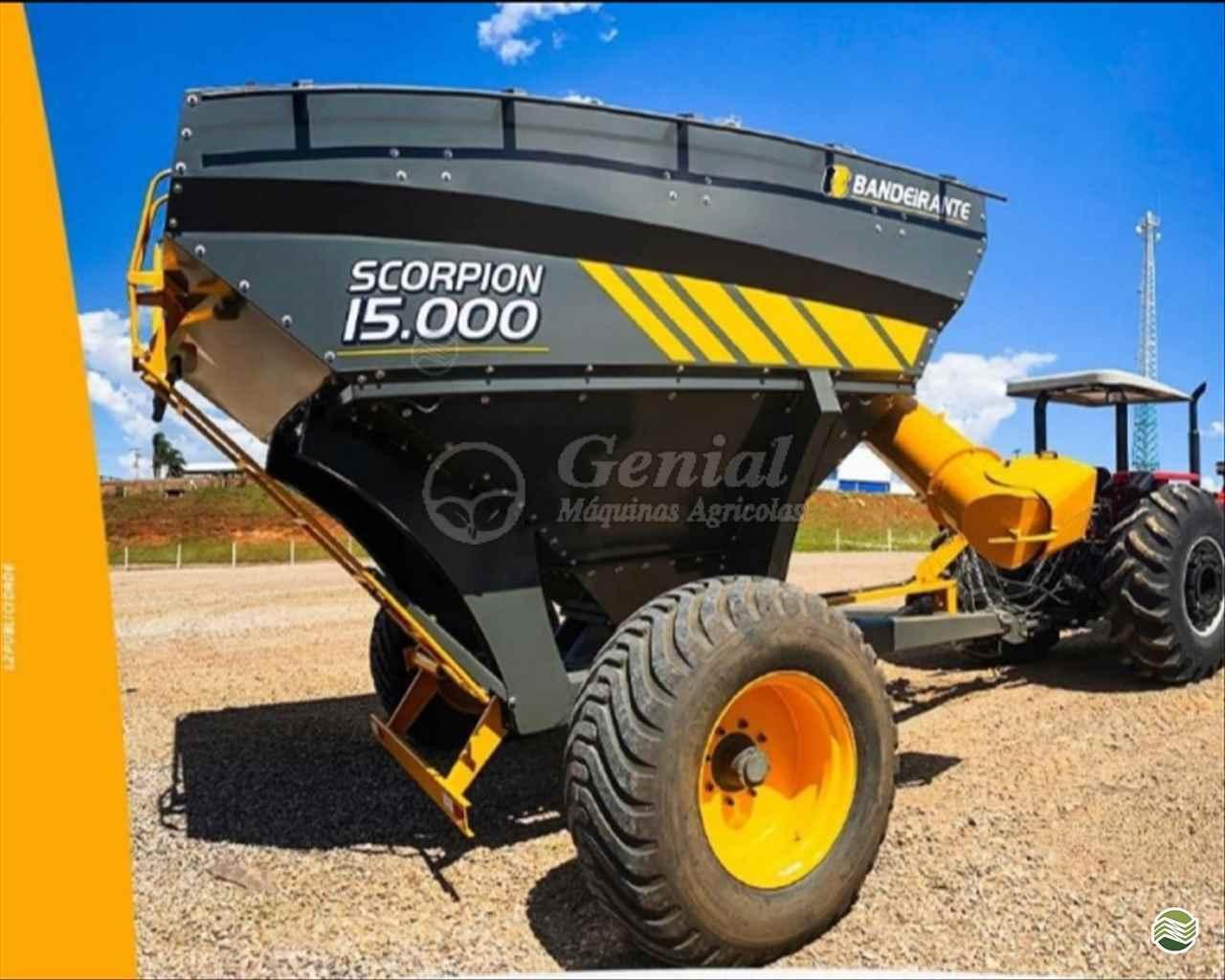 IMPLEMENTOS AGRICOLAS CARRETA BAZUKA GRANELEIRA 18000 Genial Máquinas DOURADOS MATO GROSSO DO SUL MS