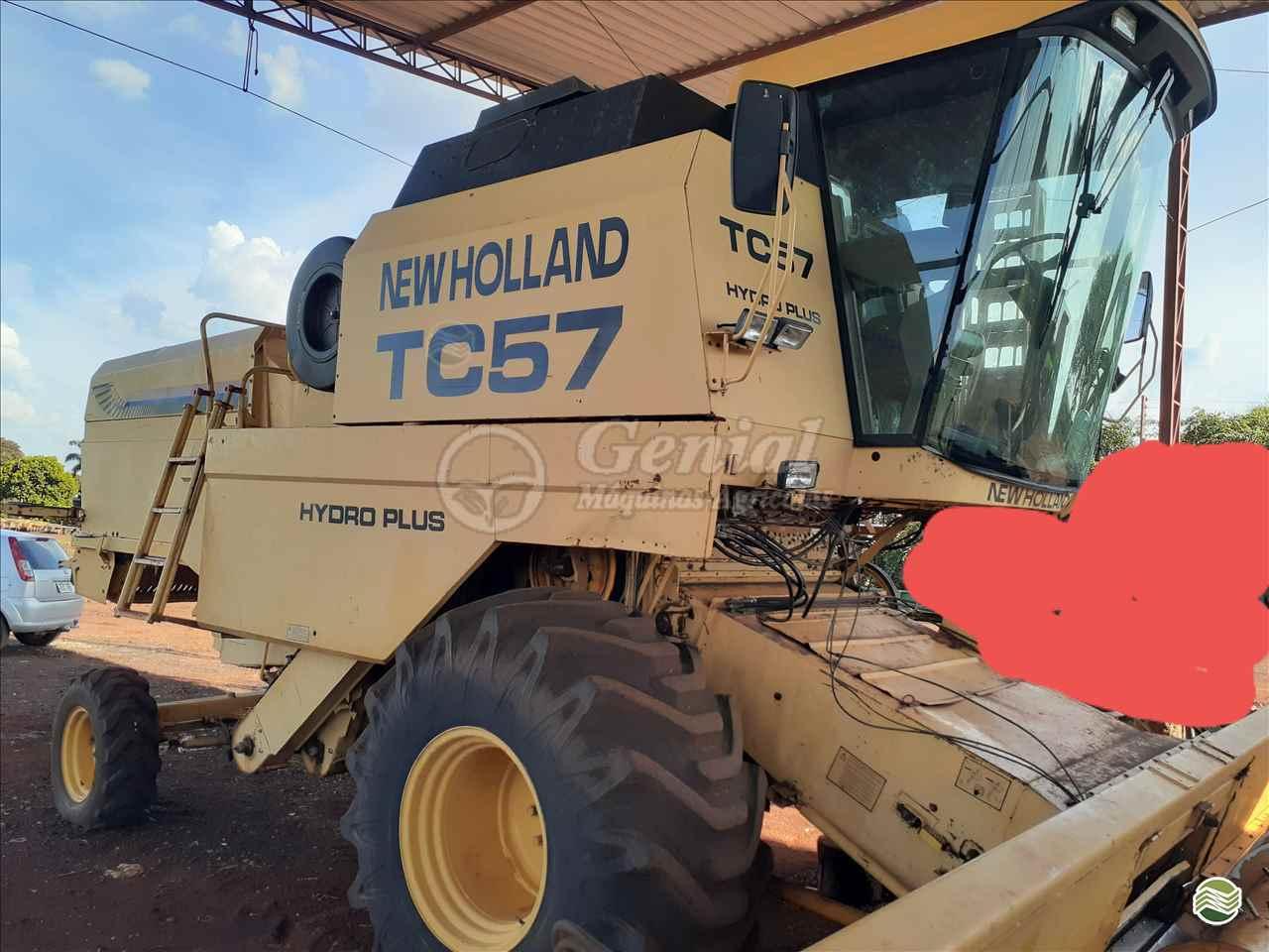 COLHEITADEIRA NEW HOLLAND TC 57 Genial Máquinas DOURADOS MATO GROSSO DO SUL MS