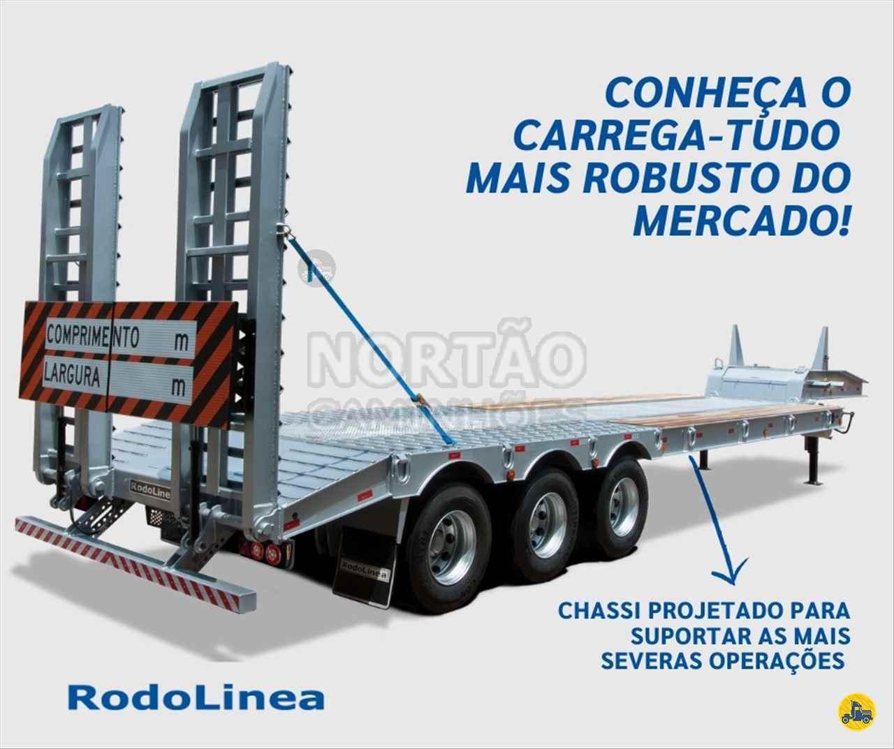 SEMI-REBOQUE PRANCHA  2021/2021 Nortão Caminhões